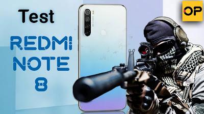 فيديو تجربة لعبة call of duty mobile على هاتف ريدمي نوت 8 | REDMI NOTE 8
