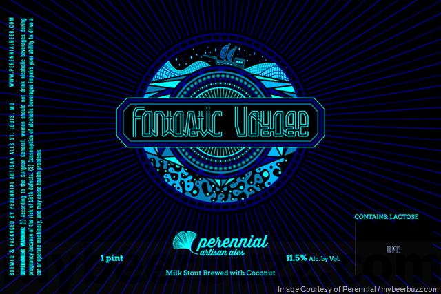Perennial Artisan Ale Fantastic Voyage Milk Stout Cans