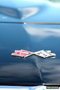 Corvette Flag badge