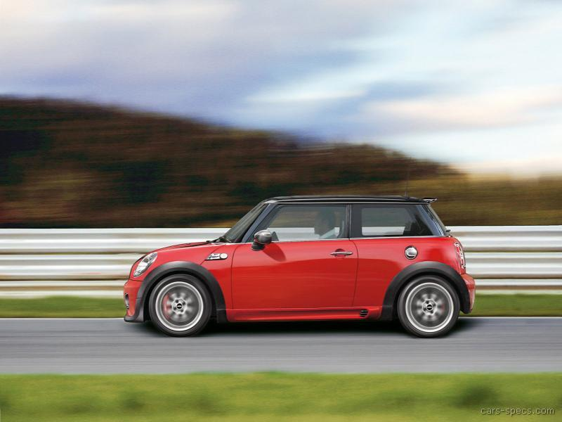 2009 mini cooper john cooper works specifications pictures prices. Black Bedroom Furniture Sets. Home Design Ideas