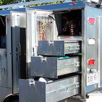 drivers side rear storage