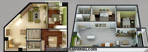 Nội thất bên trong căn hộ Hà Đô - Gò Vấp - TP HCM-3