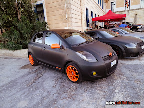 Wrapped Toyota Yaris/Vitz
