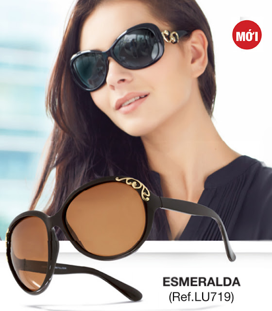 Kính mắt nữ Sophie Paris Esmeralda - LU719