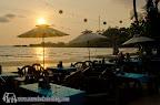 Sunset at Koh Chang Paradise Resort & Spa restaurant