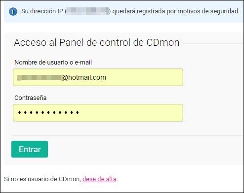Abrir mi cuenta Cdmon - 10