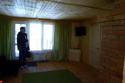 На втором этаже гостевого дома Масликовых