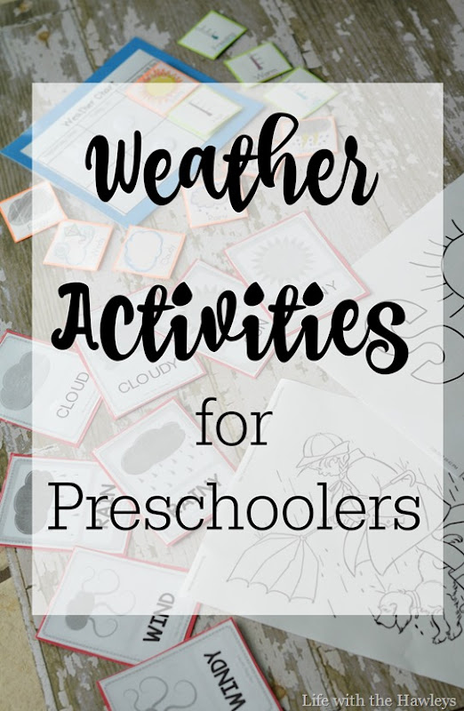 Weather Activities for Preschoolers
