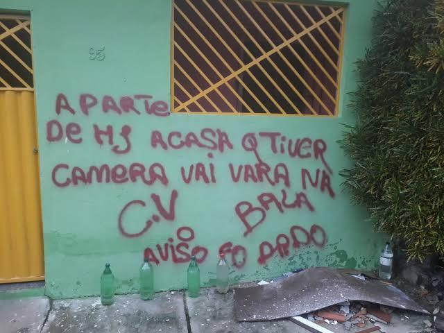 """Líderes do CV de oito estados migram para o Rio, """"Acabou o esculacho, é só uma questão de tempo para nós dominar o estado: veja o vídeo"""