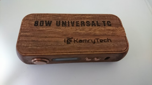 DSC 2216 thumb%25255B3%25255D - 【MOD】「Kamry 80W UTC ウッドBOX MOD」驚異のカムリー超コンパクト軽量MODレビュー!!軽いだけ、、いやそんなはずは、、【電子タバコ/軽量MOD】