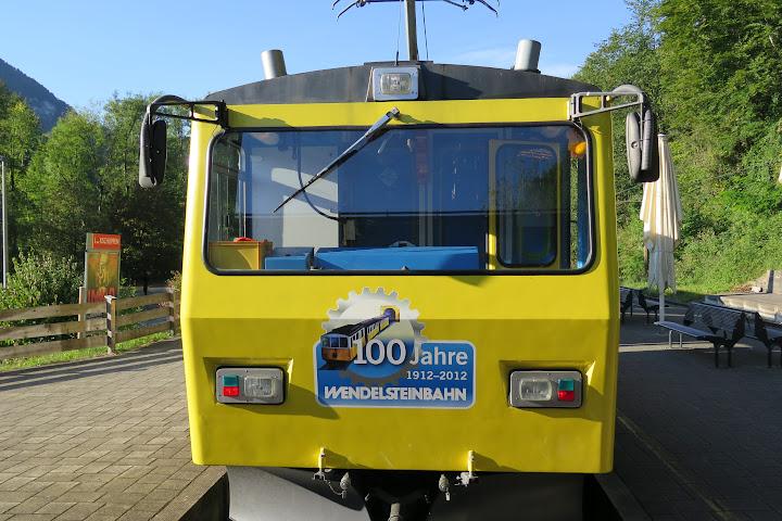 Eine Fahrt mit der Wendelsteinbahn macht Spaß