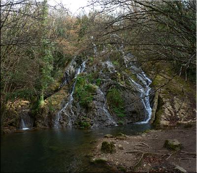 Cascada del río Inglares