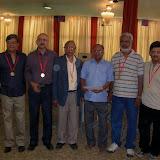 2008 Winter Nationals - The 2008 Ashok R. Ruia Trophy Winners with Shri Y. Kamlakara Rao, President BFI From L to R: Sunil Machhar, Arvind Vaidya, R.A. Agarwal, Shri Kamlakara, P.G. Hegde, Arun Bapat
