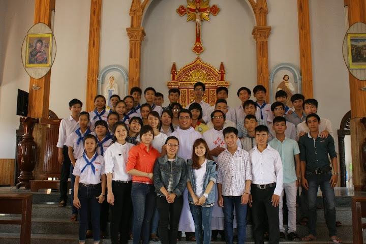 Gặp gỡ sinh viên Giáo xứ Vườn Vông