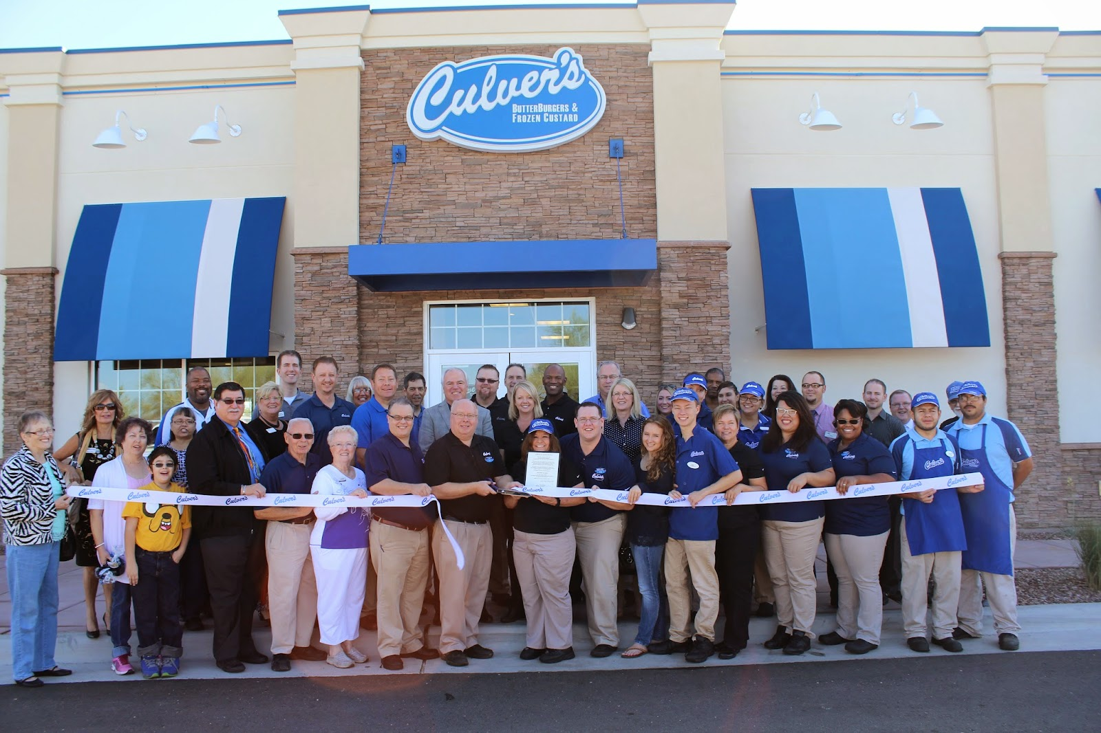 Grand opening celebration for Culver's at Kino