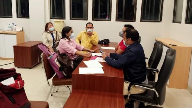 Terkait Dana BOS, Pembina Yayasan Pendidikan Dharma Tunas Bangsa dilaporkan ke Polda Riau