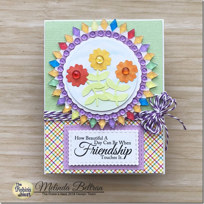 frienship flower card w logo