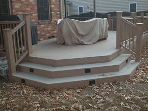 Custom composite wrap steps Newport News,  VA