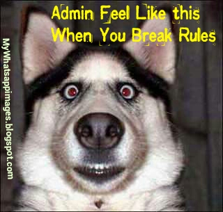 Admin Feel When you break Rules