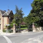 Château de Berthenonville : entrée