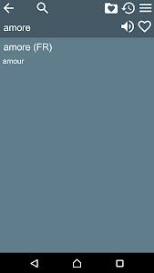 French Italian Dictionary Free screenshot 5