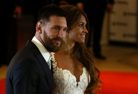 Lionel Messi marries childhood sweetheart Antonela Roccuzzo in star-studded wedding
