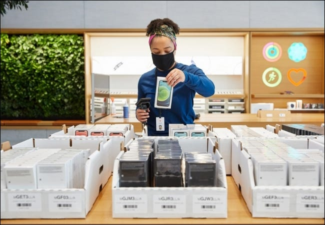 iPhone Scanning Store