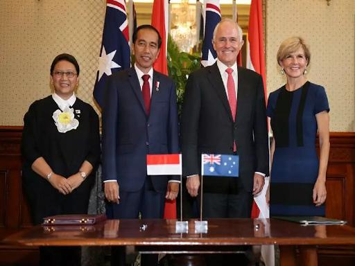 %name Indonesia, Australia restore military ties
