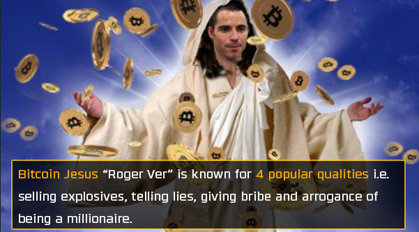 Bitcoin Jesus Sells Explosives & is a Liar