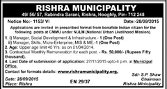 Rishra Municipality Advertisement