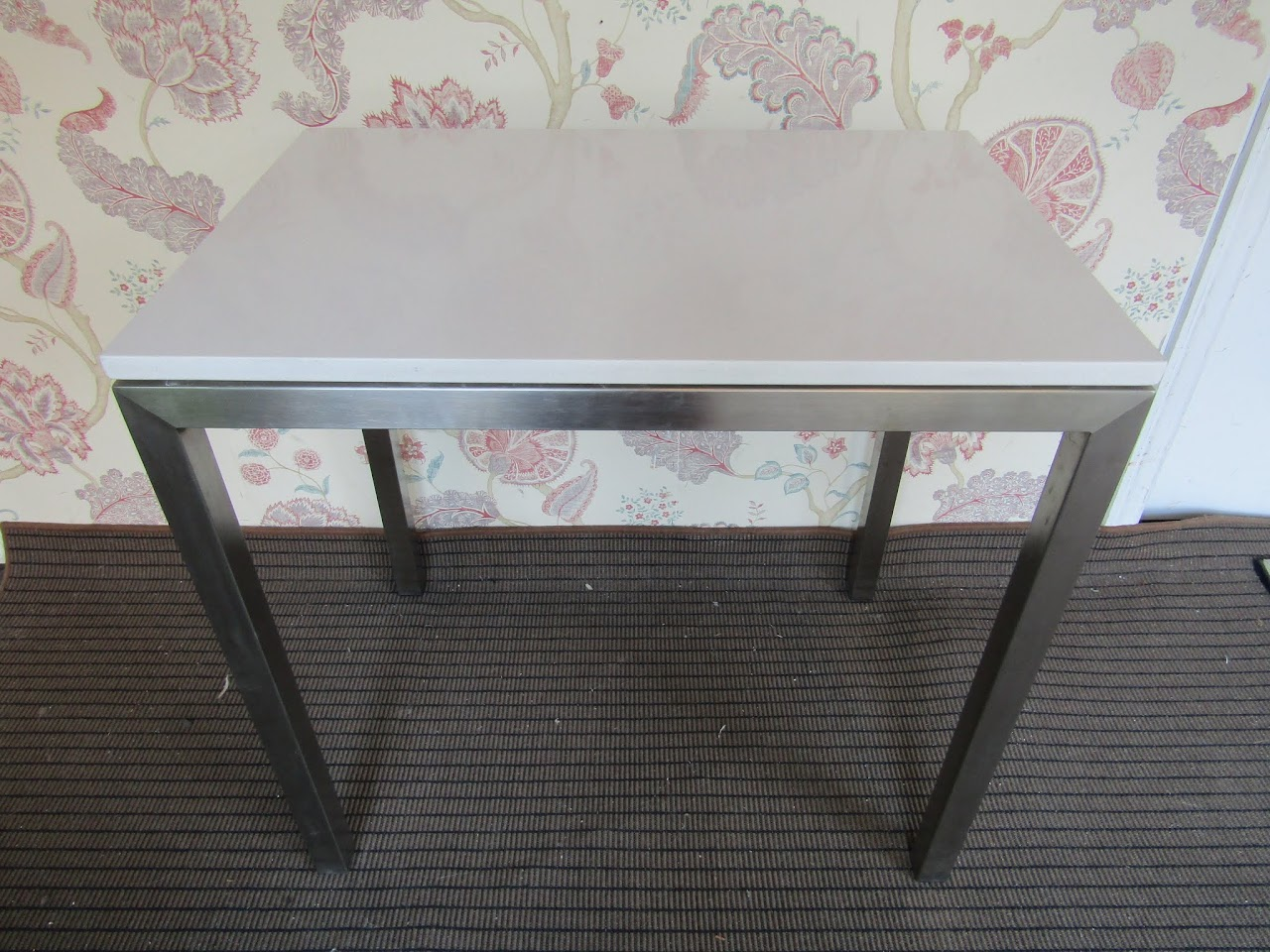 Stone Top Parsons Table 1