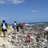 Beach Cleanup with Mililani Middle School 06/09