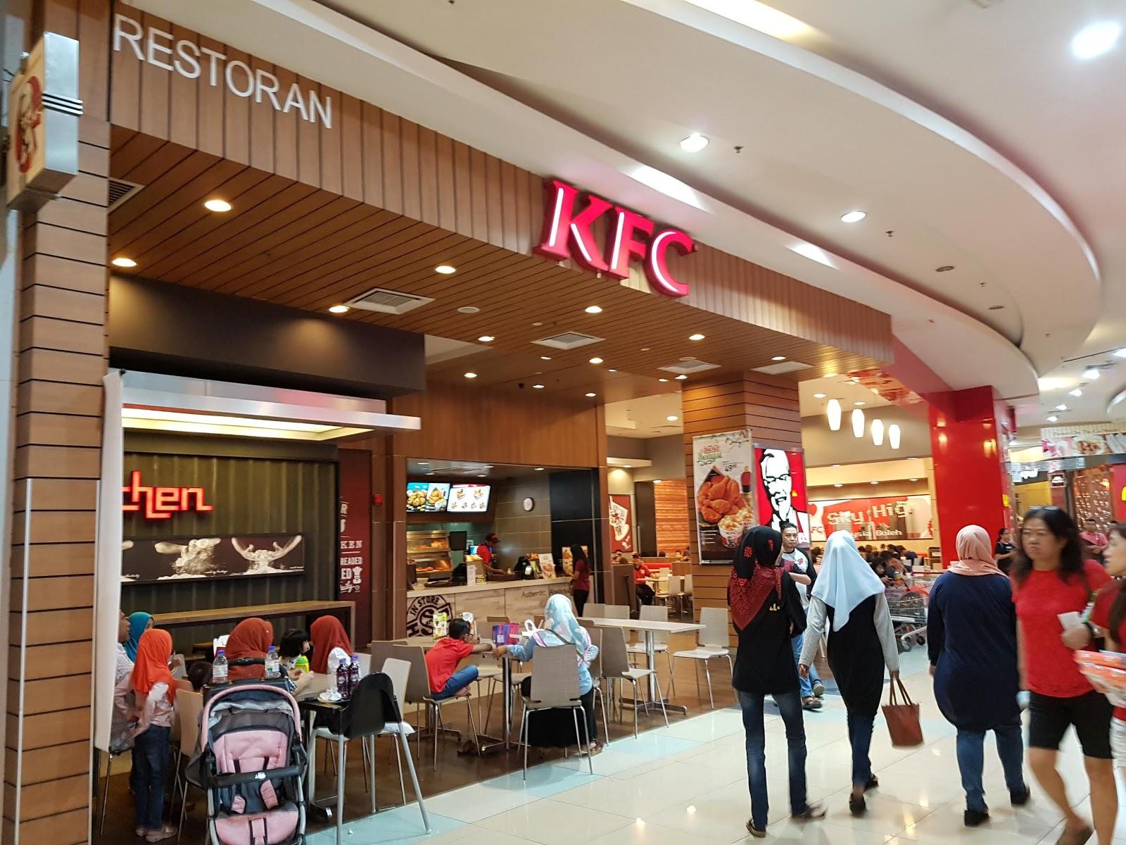 kfc malaysia location