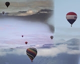 """Sequim Balloons Collage"" by Merrill Terpstra - B General"