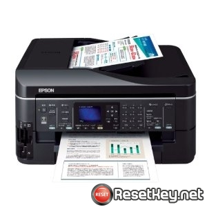 Reset Epson PX-603F printer Waste Ink Pads Counter