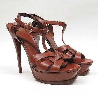 Yves Saint Laurent Platform Sandals