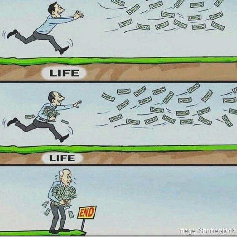 Humor toda la vida detrás del dinero