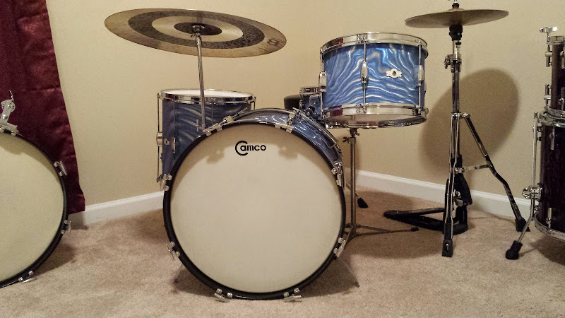 This Is The Display Your Camco Drums Thread Archive Vintage Drum Forum