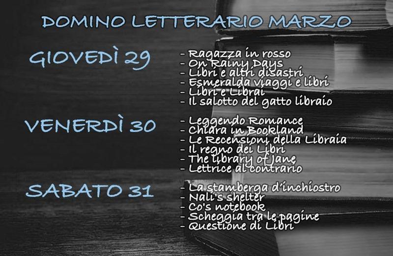 Domino letterario Marzo
