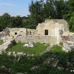 Ancien château : cuisines médiévales