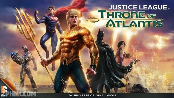 Ảnh trong phim Liên Minh Công Lý: Cuộc Chiến Đại Tây Dương - Justice League: Throne of Atlantis 1