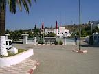 Entrada al palacio de Gobernación, sede del seminario
