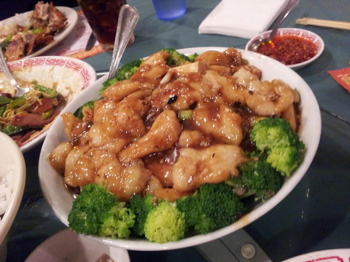 fish in black bean sauce. From Foodie Finds: Authentic Chinese at Milwaukee's Fortune Restaurant