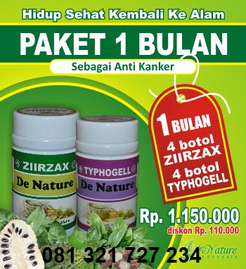 Ziirzax Typhogell Obat Kanker