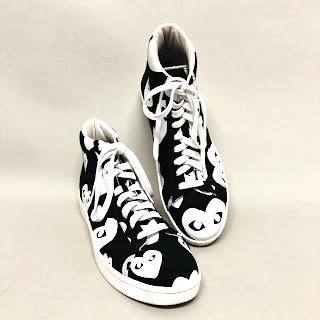Comme des Garçons Play Converse High Top Sneakers