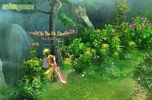Võ Hiệp Truyền Kỳ có mặt trên mạng chơi game Soha 2