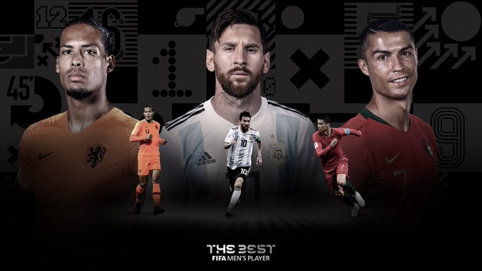 OFFICIAL : FIFA reveal the last three-man standing for men's best Award