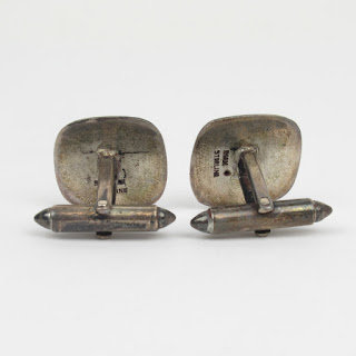 Siam Sterling Silver Cufflinks