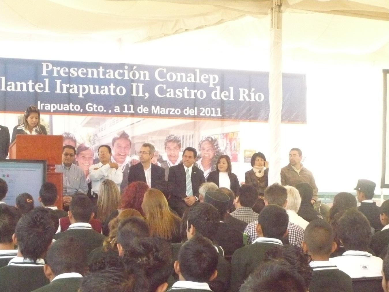 Conalep Guanajuato Noticias Presentan Conalep Plantel