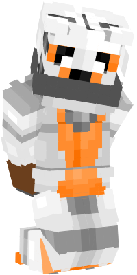 Here's MC Lolbit after she and her friends got kidnapped by their corrupted counterparts, the Corrupted Minecraft (MC) 6 and Adventure Puppet.